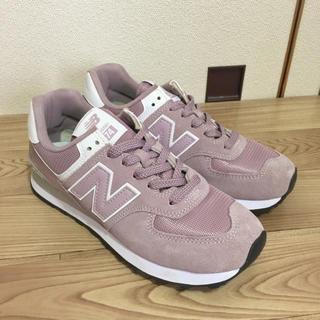 New Balance - 【セール・美品USED・25cm】ニューバランス スニーカー ML574 ピンク