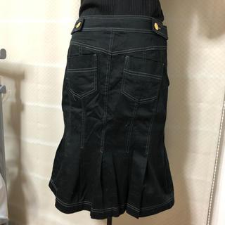 Otto 膝丈スカート 13号 黒(ひざ丈スカート)