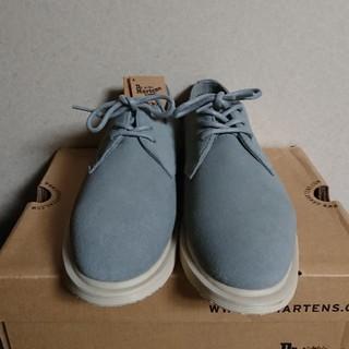 ドクターマーチン(Dr.Martens)の最終お値下げ‼️ドクターマーチン トリアーノ 3ホール グレー 23㌢(ローファー/革靴)