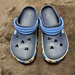 クロックス(crocs)のcrocs kids クロックス キッズ ミッキー  サンダル 18.5 ㎝(サンダル)