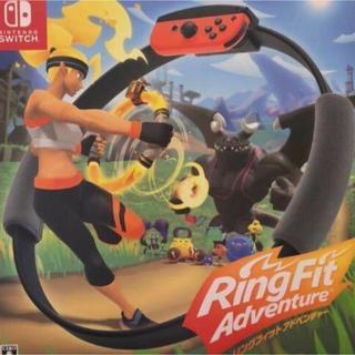 ニンテンドースイッチ(Nintendo Switch)のリングフィット アドベンチャー Switch新品未開封送料無料(家庭用ゲームソフト)