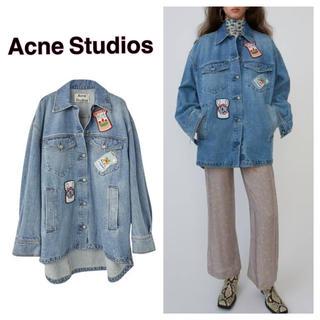ACNE - Acne Studios アクネ☆コラボ デニム シャツジャケット