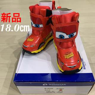 MOONSTAR  - MOONSTARムーンスター ディズニー カーズ 18cm キッズ 新品
