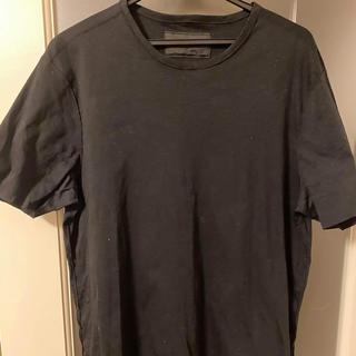 プラダ(PRADA)の美品!PRADA メンズ ブラック Tシャツ Lサイズ(Tシャツ/カットソー(半袖/袖なし))