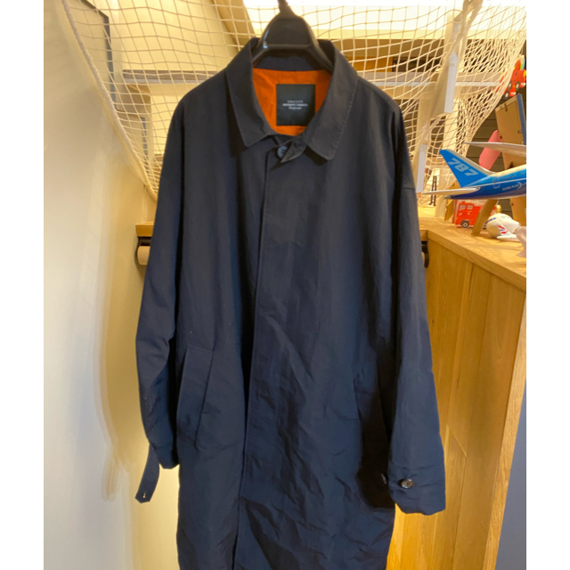 UNUSED(アンユーズド)のアンユーズド unused 19aw ナイロン ステンカラーコート メンズのジャケット/アウター(ステンカラーコート)の商品写真