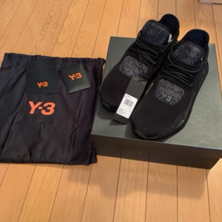 Y-3 saikou スニーカー  黒 ブラック