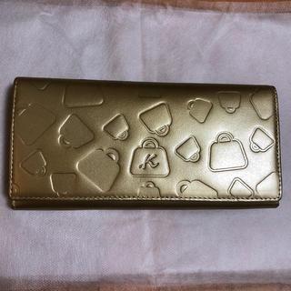 キタムラ(Kitamura)の❤︎未使用品❤︎キタムラ ゴールド 長財布(財布)