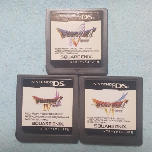 ニンテンドーDS(ニンテンドーDS)のDSドラゴンクエスト456 マリオセット ソフトのみ エンタメ/ホビーのゲームソフト/ゲーム機本体(携帯用ゲームソフト)の商品写真