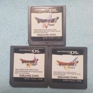 ニンテンドーDS - DSドラゴンクエスト456 ソフトのみ