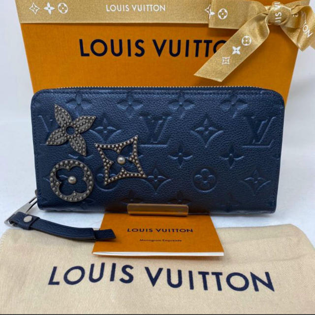 LOUIS VUITTON - 新品☺︎LOUIS VUITTON ルイヴィトン 長財布 アンプラント スタッズの通販