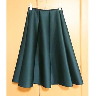 dholic - モスグリーン フレアスカート