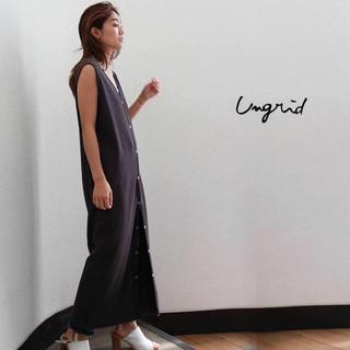 Ungrid - Ungrid セール アングリッド  ハニカムリングドットワンピース