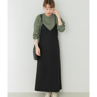 URBAN RESEARCH - 新品未使用♡URBAN RESEARCH バックレースアップキャミワンピース