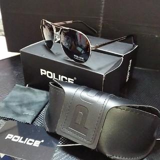 ポリス(POLICE)のPOLICE ディアドロップサングラス 3点セット (サングラス/メガネ)