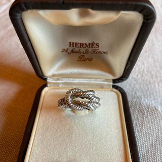 エルメス(Hermes)のエルメス★ヴィンテージ シルバーリング(リング(指輪))