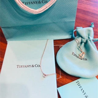 Tiffany & Co. - ティファニー カラーバイザヤード ネックレス