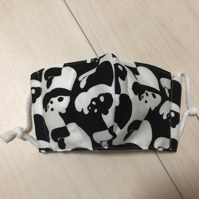洗濯 マスク - ★新品 ハンドメイド 可愛いパンダ 大人用立体マスク 紐付きの通販