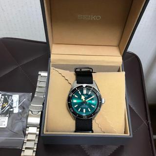セイコー(SEIKO)の現代版ファーストダイバー 限定 SBDC059 メンズ 腕時計(腕時計(アナログ))