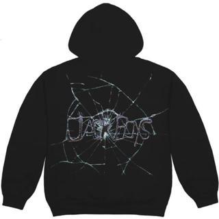 カクタス(CACTUS)のtravis scott cracked hoodie(パーカー)