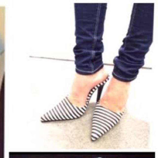 GYDA(ジェイダ)のGYDA newポインテッドミュール レディースの靴/シューズ(ミュール)の商品写真