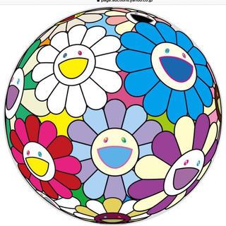本物国内正規品 村上隆kaikaikiki  お祭りの飾り花300枚限定ポスター(版画)