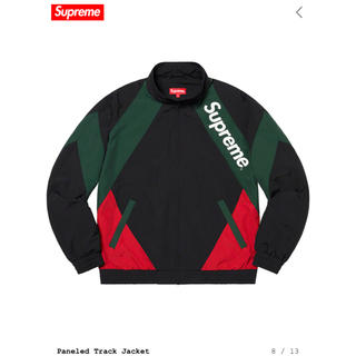 Supreme - supreme paneled track jacket Lサイズ