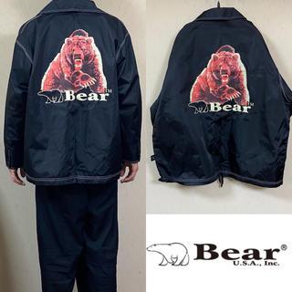 ベアー(Bear USA)の90's BEAR USA ベアー ナイロンジャケット コーチジャケット(ナイロンジャケット)