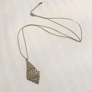 ヴィス(ViS)のViS ゴールドプレートネックレス(ネックレス)