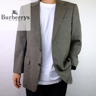 BURBERRY - 90s  Burberrys  バーバリー フレスコ生地テーラードジャケット