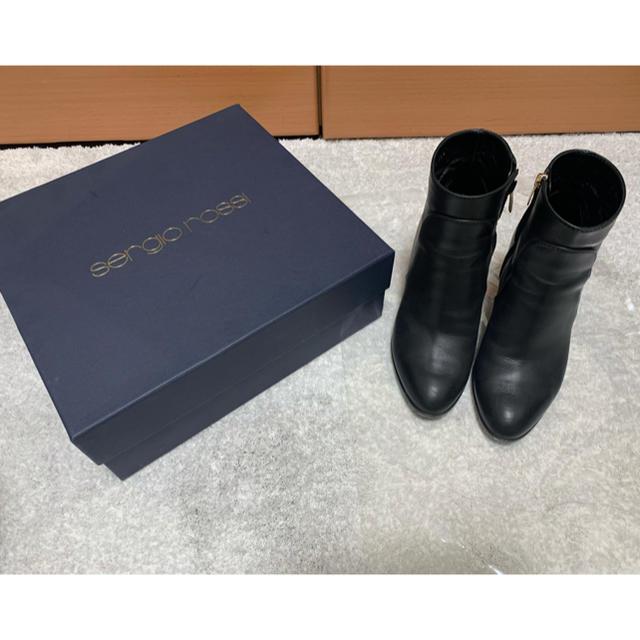 Sergio Rossi(セルジオロッシ)のsergio rossi セルジオロッシ  ショートブーツ アンクルブーツ レディースの靴/シューズ(ブーツ)の商品写真