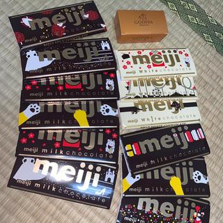 メイジ(明治)のMeiji チョコレート GODIVA(菓子/デザート)