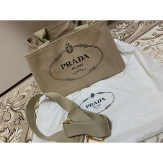 PRADA - PRADAキャンバスバッグ