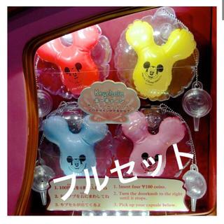 ミッキーマウス - ミッキー バルーン型 キーチェーン カプセルトイ 東京ディズニーシー