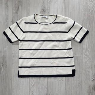 ZARA - ZARA ボーダー ニット Tシャツ