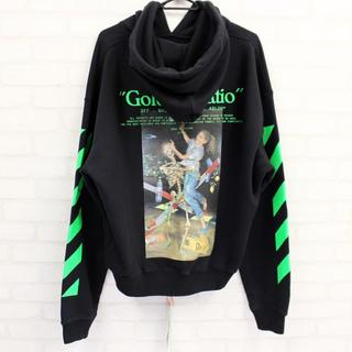 OFF-WHITE - 新品 OFF-WHITE PASCAL PAINTING OVER HOODIE