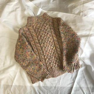 クリスプ(Crisp)のcolorful Knit 網 ニット(ニット/セーター)