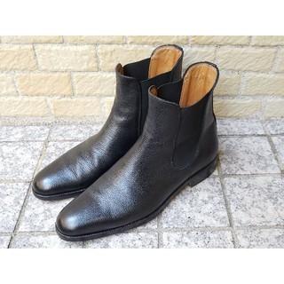 トゥモローランド(TOMORROWLAND)のヒデタカフカヤ トゥモローランド サイドゴアブーツ 38.5 (24cm)(ブーツ)