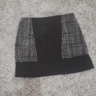MERCURYDUO - ツイード台形スカート / MERCURYDUO