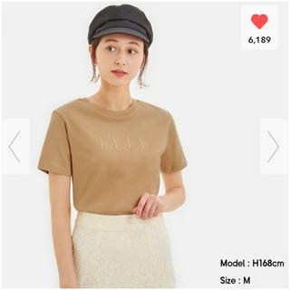 GU - GU ELLE コラボTシャツ