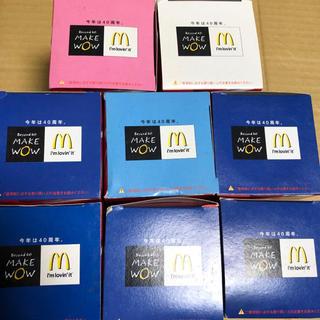 コカコーラ(コカ・コーラ)の非売品 コカコーラ マクドナルド 40周年 2011 グラス 8個セット(ノベルティグッズ)