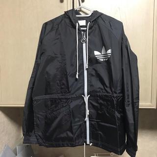 adidas - ナイロンジャケット adidas 150 黒