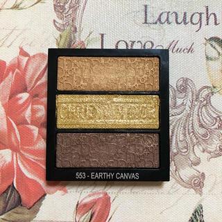 Dior - 限定 Dior トリオ ブリック パレット 553 ブラウン ゴールド