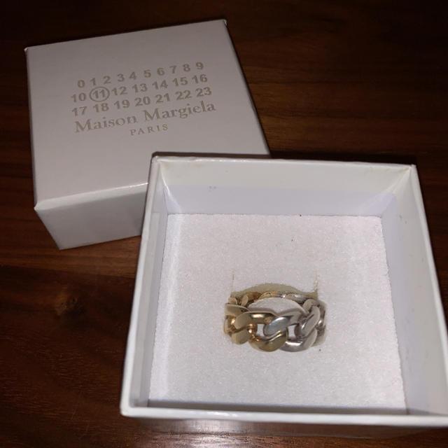 Maison Martin Margiela(マルタンマルジェラ)のマルジェラ  18aw ツートン リング メンズのアクセサリー(リング(指輪))の商品写真