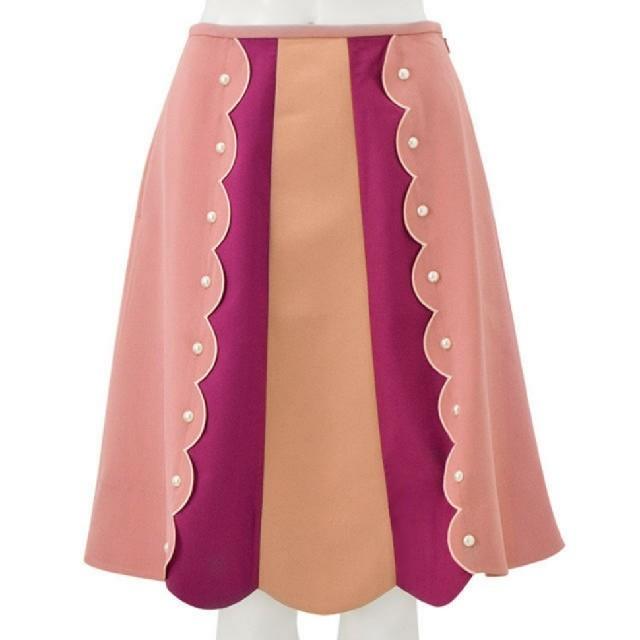Chesty(チェスティ)のChesty★完売!スカラップスカート size 1 レディースのスカート(ひざ丈スカート)の商品写真