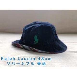Ralph Lauren - ラルフローレン リバーシブル 帽子 ハット 46〜48 美品