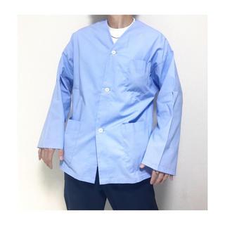 Yohji Yamamoto - dead stock vintage フランス軍 ノーカラーシャツ ジャケット