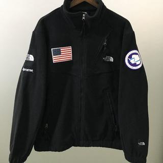 Supreme - Supreme×TNF Fleece Jacket Black  XL