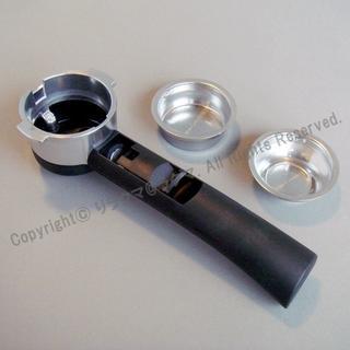 デロンギ(DeLonghi)の新品 デロンギ コーヒーパウダー専用ポルタフィルターホルダー(エスプレッソマシン)