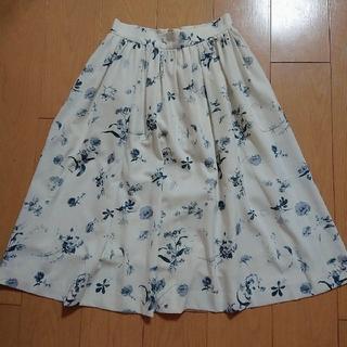 トランテアンソンドゥモード(31 Sons de mode)の31ソンドゥモード♥️水墨画風スカート(ひざ丈スカート)