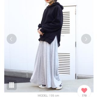 ホリデイ(holiday)のHoliday カットマキシスカート(ロングスカート)